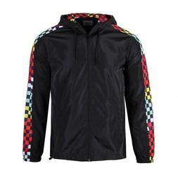 men s lightweight windbreaker rain jacket
