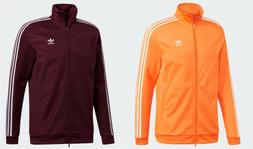 Adidas Men's Originals BB Track Jacket Maroon Orange DH5830