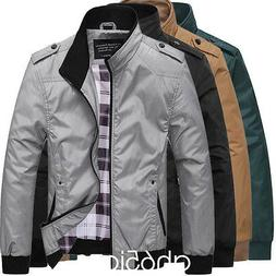 Men's Slim collar jackets fashion jacket Tops Casual coat ou