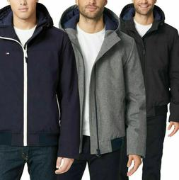 Tommy Hilfiger Men's Soft Shell Hooded Quilted Lined Jacket