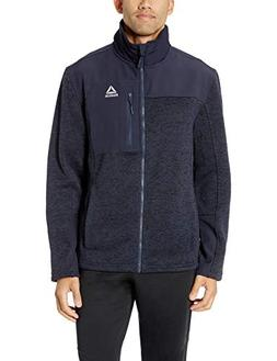 Reebok Men's Softshell Active Jacket, Systems Navy, M
