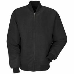 Red Kap Men's Solid Team Jacket Black X-Large