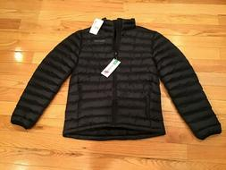 men s solus featherless puffer jacket black