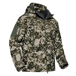 MAGCOMSEN Men's Tactical Military Hunting Winter Jacket Camp