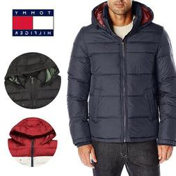 Tommy Hilfiger Men's Ultra Loft Insulated Hooded Puffer Jack