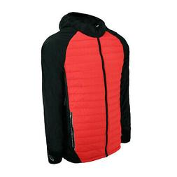 Asics Men's Weather Resistant Quilted Duck Down Jacket Solar