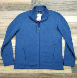 men s xl drop line full zip