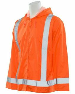Men Women Waterproof High Visibility Safety Reflective Rain