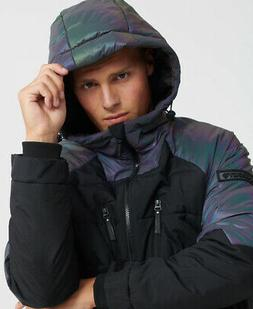 Superdry Mens Aeon Holographic Padded Jacket