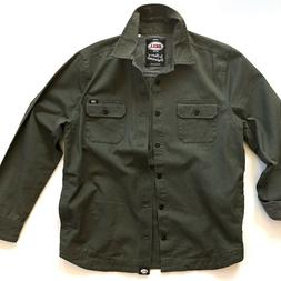 BELL Mens Army Green Utility Jacket Size Medium Lincoln Styl