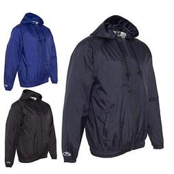 Rawlings Mens Athletic Sports Windbreaker Hooded Full-Zip Wi