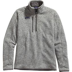 Patagonia Mens Better Sweater 1/4 Zip Pullover 25522 - STONE