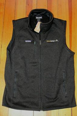 Mens Patagonia Better Sweater Vest New with tags black Mediu