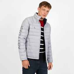 Nautica Mens Endeavour Quilted Reversible Jacket