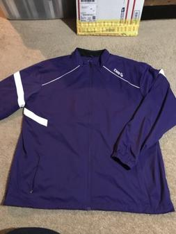 Asics Mens Full Zip Jacket 4XL, New With Tags