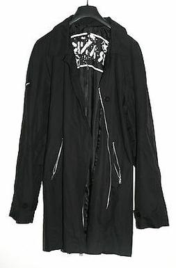 MENS RANK JACKET. CAR LENGTH. NEW. SIZE XXL. BLACK. PUNK STY