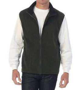 Gioberti Mens Jacket Green Size Large L Polar Fleece Full-Zi