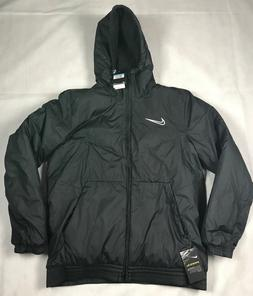 NIKE MENS M FULL ZIP FOOTBALL/SOCCER BLACK SYNTHETIC FILL CO
