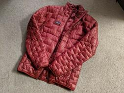 Mens Patagonia Micro Puff Jacket - Color Oxide Red - Size Sm
