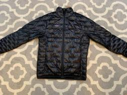 Patagonia Mens Micro Puff Jacket Size Medium Black Shiny NWT