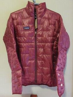 Mens New Patagonia Micro Puff Jacket Size Small Color Oxide