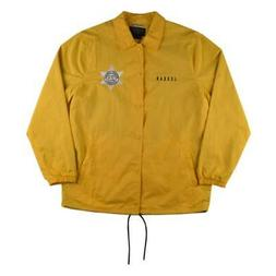 Nike Mens Pinnacle Security Jacket Maize Yellow Size L
