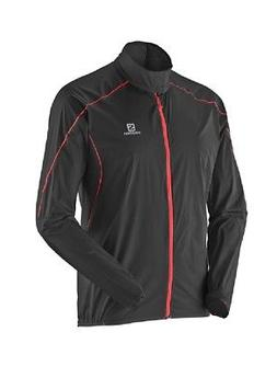 Salomon Mens S-Lab Light Running Jacket - Windproof, Reflect
