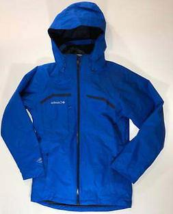 Columbia Mens S-M-L Nordic Point II Interchange Jacket 3 In