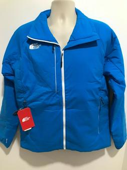 The North Face Mens Size L Hyper Blue Full-Zip Insulated Ven