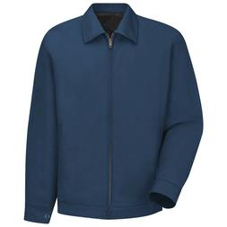 Red Kap Mens Slash Work Jacket - Navy