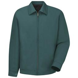 Red Kap Mens Slash Work Jacket - Spruce Green