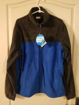 "Mens Columbia ""Steens Mountain 2.0"" Full Zip Fleece Navy Jac"