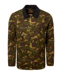 Mens Superdry Supersonic Canvas Coach Jacket Camo