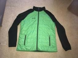 mens thermal r insulation merger hybrid jacket