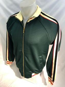 MENS VICTORIOUS TRACK JACKET Urban ZIP UP GREEN Black Red Tr
