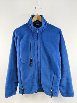 Mens Vintage Made In Usa Patagonia Synchilla Full Zip Jacket