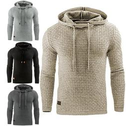 Mens Warm Jacket Outwear Jumper Hoodies Coat Sweater Hooded