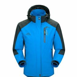 Mens Waterproof Windproof Warm Coat Snow Winter Jacket Outwe