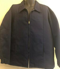 Men's Red Kap XXL Reg Jacket Work Wear Mechanics Quilt Lin