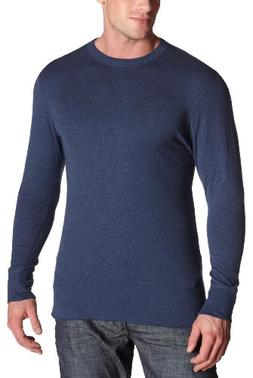 Duofold Men's Midweight Long Sleeve Crew,Olive Heather,Mediu