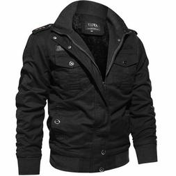 Military Casual Padded Woolen Winter Jacket Autumn Outdoor M