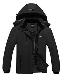 EQUICK Men's Mountain Waterproof Jacket Windproof Rain Jacke