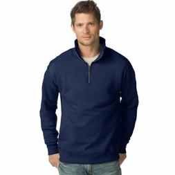 Hanes N290 Men's Nano Premium Lightweight Quarter Zip Jacket