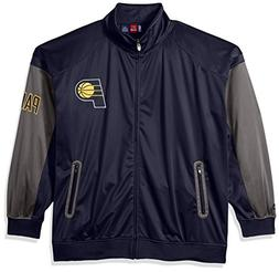 NBA Indiana Pacers Men's Big & Tall Team Track Jacket, Navy/