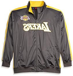 NBA Los Angeles Lakers Men's Reflective Track Jacket, 2X/Tal