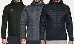 NEW Under Armour ColdGear Reactor Hybrid Hooded Jacket UA Me