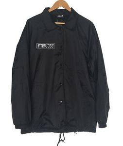 New Men's SECURITY GUARD Embroidery Badges Windbreaker Water