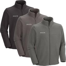 "New Mens Columbia ""Crater Peak"" Full Zip Fleece Jacket Sweat"