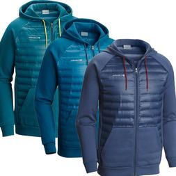 """New Mens Columbia """"Northern Comfort"""" Down Insulated Hooded J"""