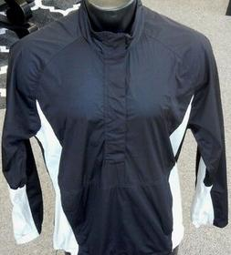 NEW Levelwear Precip Men's Long Sleeve Wind / Rain Jacket Bl